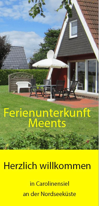 Flyer Ferienunterkunft Meents